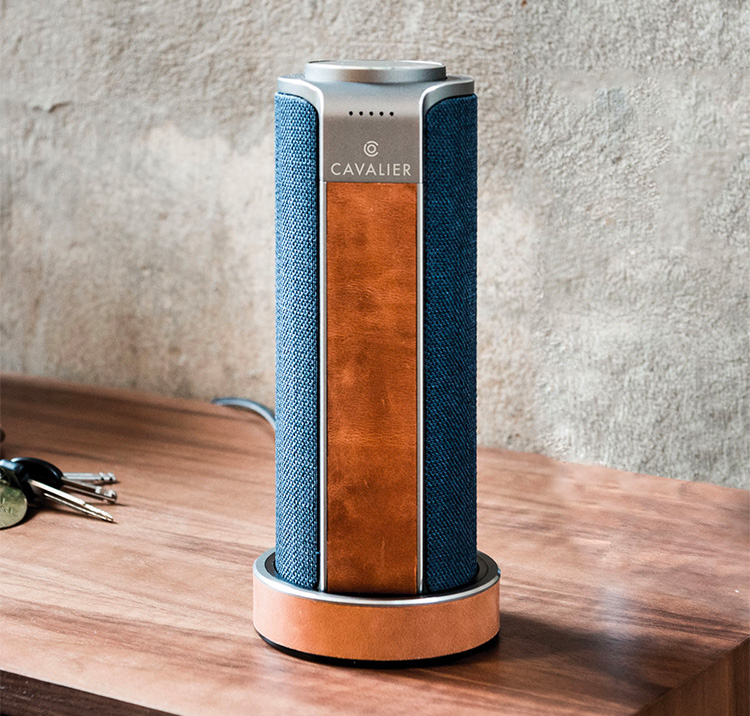 The Maverick Speaker Offers Alexa & Good Looks in a Portable Package at werd.com