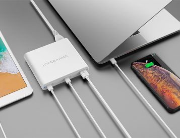 The HyperJuice Charger Delivers Multi-Device USB-C Power