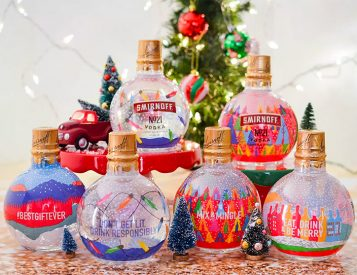 Drink Up the Holiday Cheer with Smirnoff Ornaments