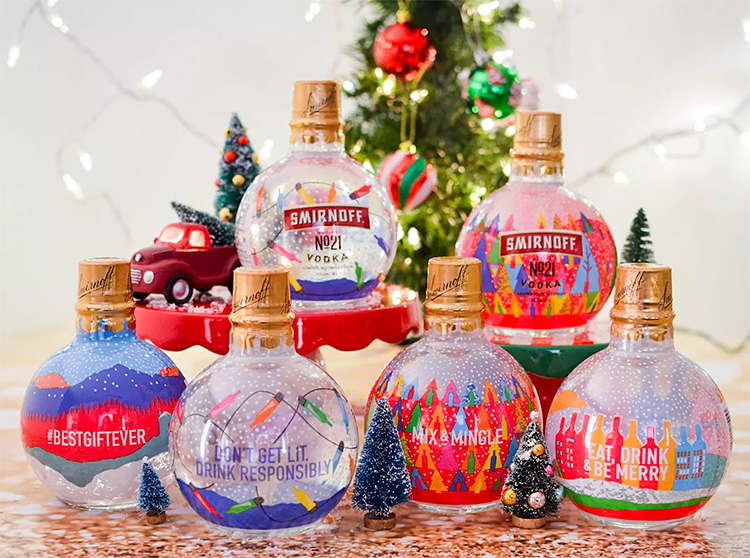 Drink Up the Holiday Cheer with Smirnoff Ornaments at werd.com