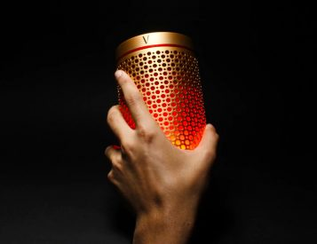 The SoundWave Portable Speaker Lights Up The Night