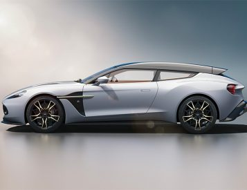 Behold: The Aston Martin Vanquish Zagato Shooting Brake
