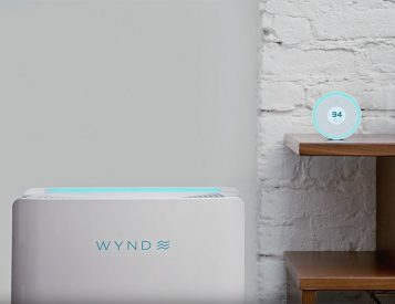 Breathe Easy with the Wynd Halo + Home Purifier