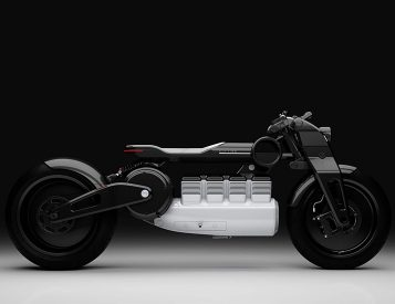 The Futuristic Curtiss Hera is Based On a Hundred Year Old Bike