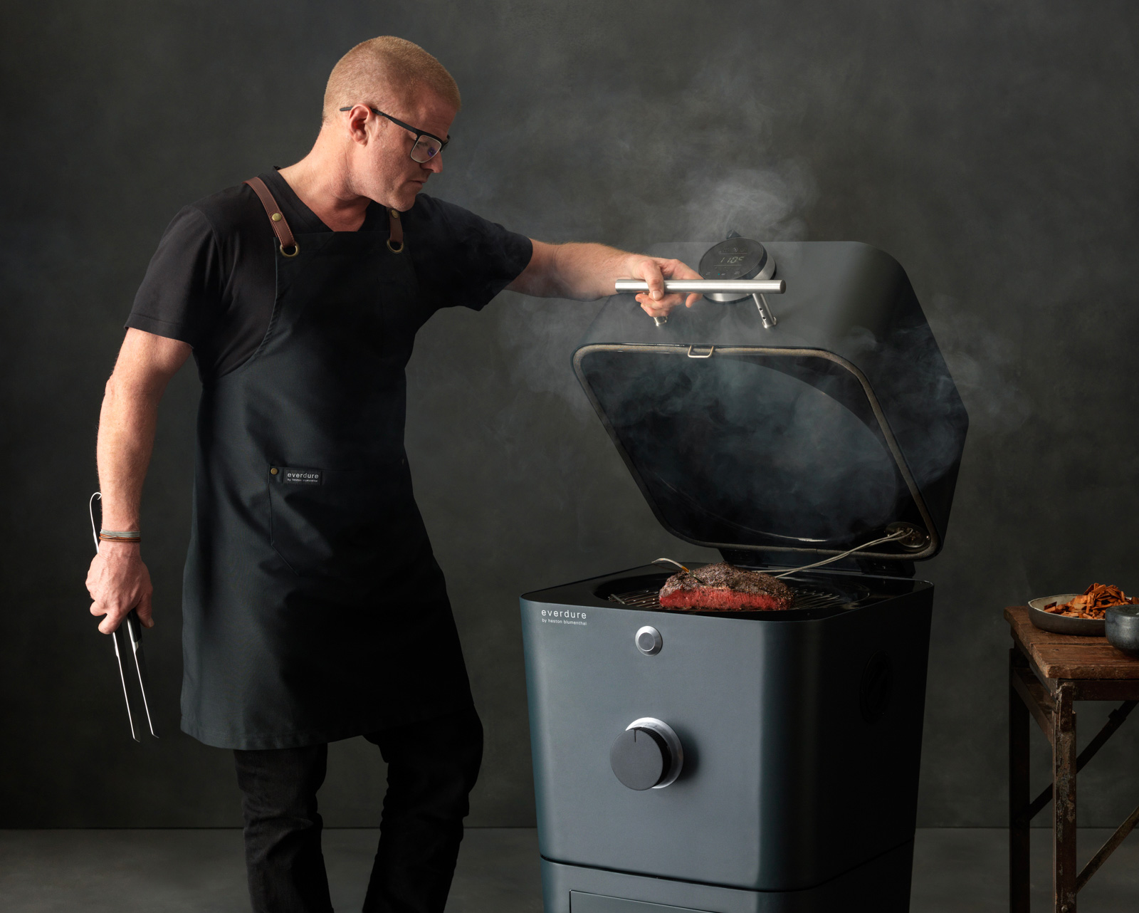This is the Most Advanced Charcoal Grill We've Ever Seen at werd.com