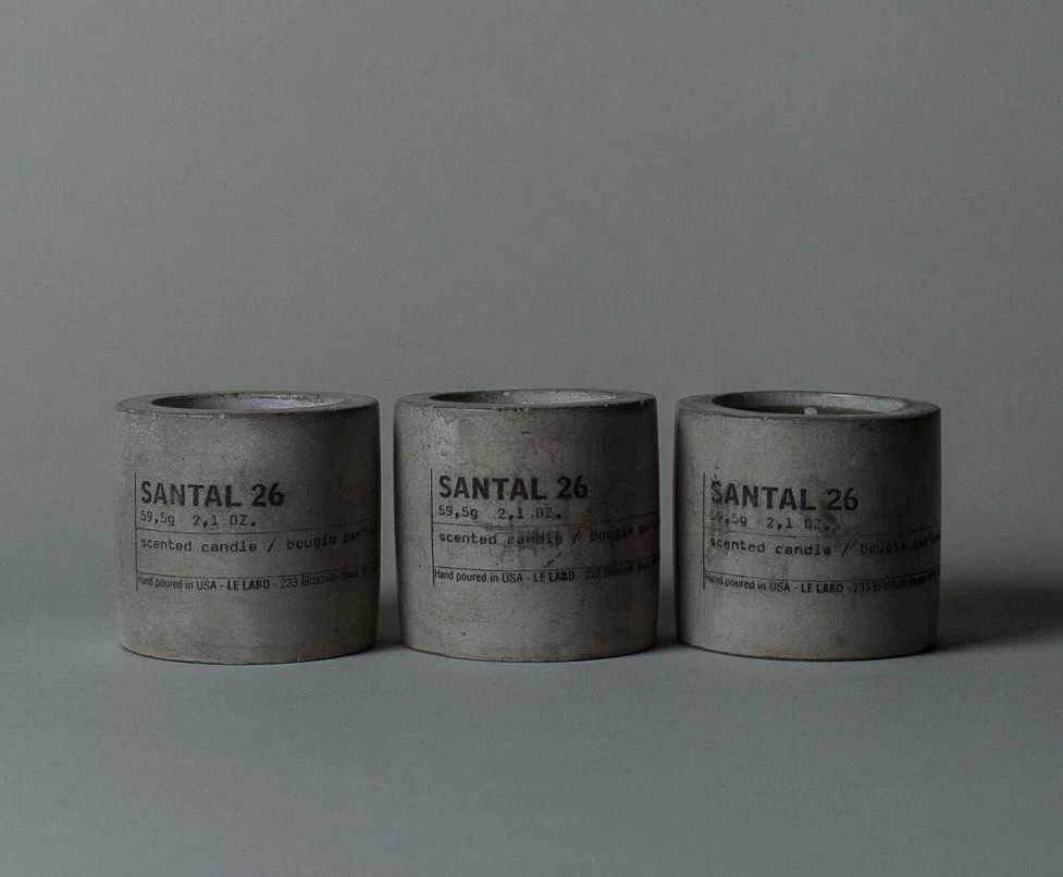 Le Labo's Scented Votive Candles Look as Good as They Smell at werd.com