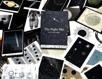 These Premium Postcards Celebrate The Starry Skies Above