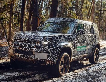 For 2020, Land Rover is Bringing Back the Defender