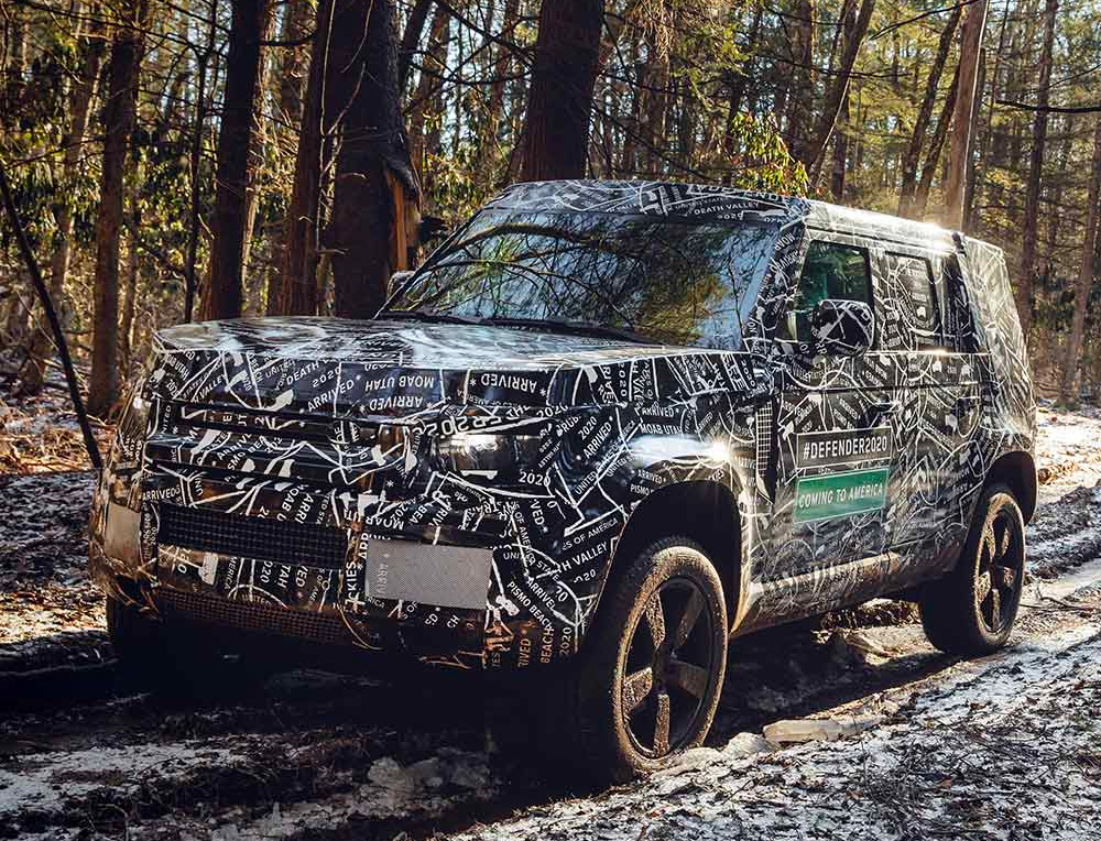 For 2020, Land Rover is Bringing Back the Defender at werd.com