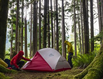 MSR's Hubba NX Tents are Wicked Waterproof