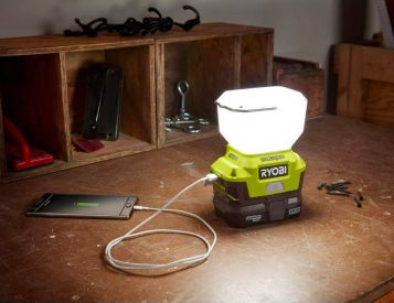 Light Up Your Life with Ryobi's EVERCHARGE LED