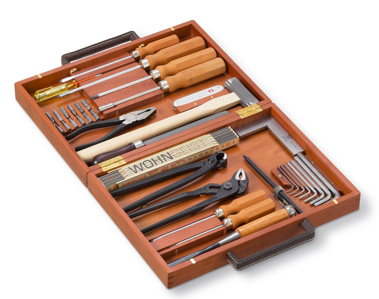 Every Home Handyman Needs a Super Expensive Swiss Tool Box at werd.com