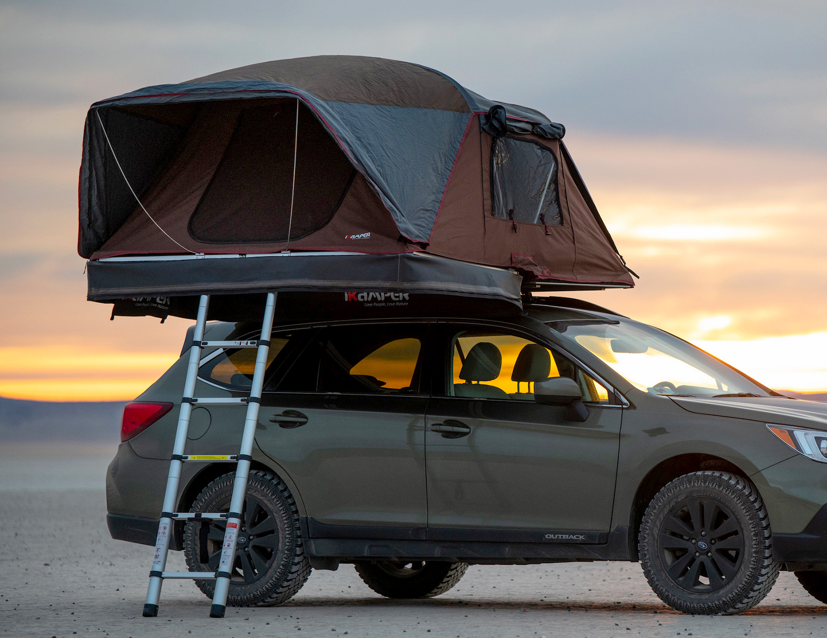 iKamper's New X-Cover Rooftop Tent is Even Better Than the Last at werd.com