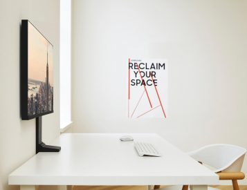 Samsung's Space Monitor is a Space Saver