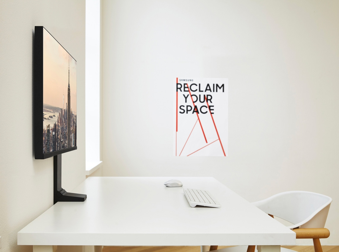 Samsung's Space Monitor is a Space Saver at werd.com