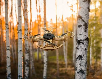 Aerowood is a DIY Drone Made of Wood