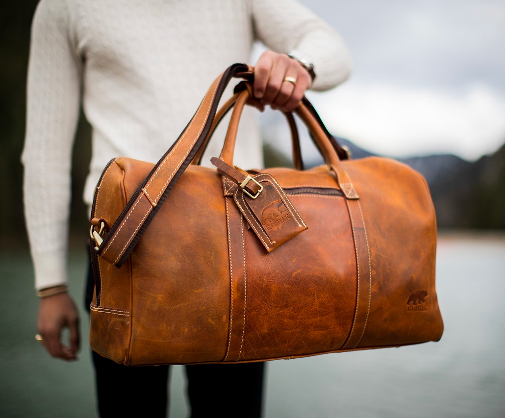 Kodiak Leather's Weekender Duffle is a Bag Built To Go the Distance at werd.com