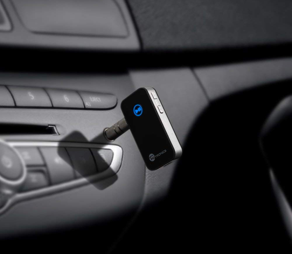 Update Your In-Car Audio with this Portable Bluetooth Receiver at werd.com