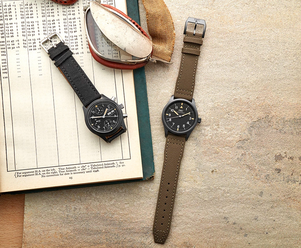 IWC & Hodinkee Partner Up On a Lean, Limited Edition Pilot's Watch at werd.com