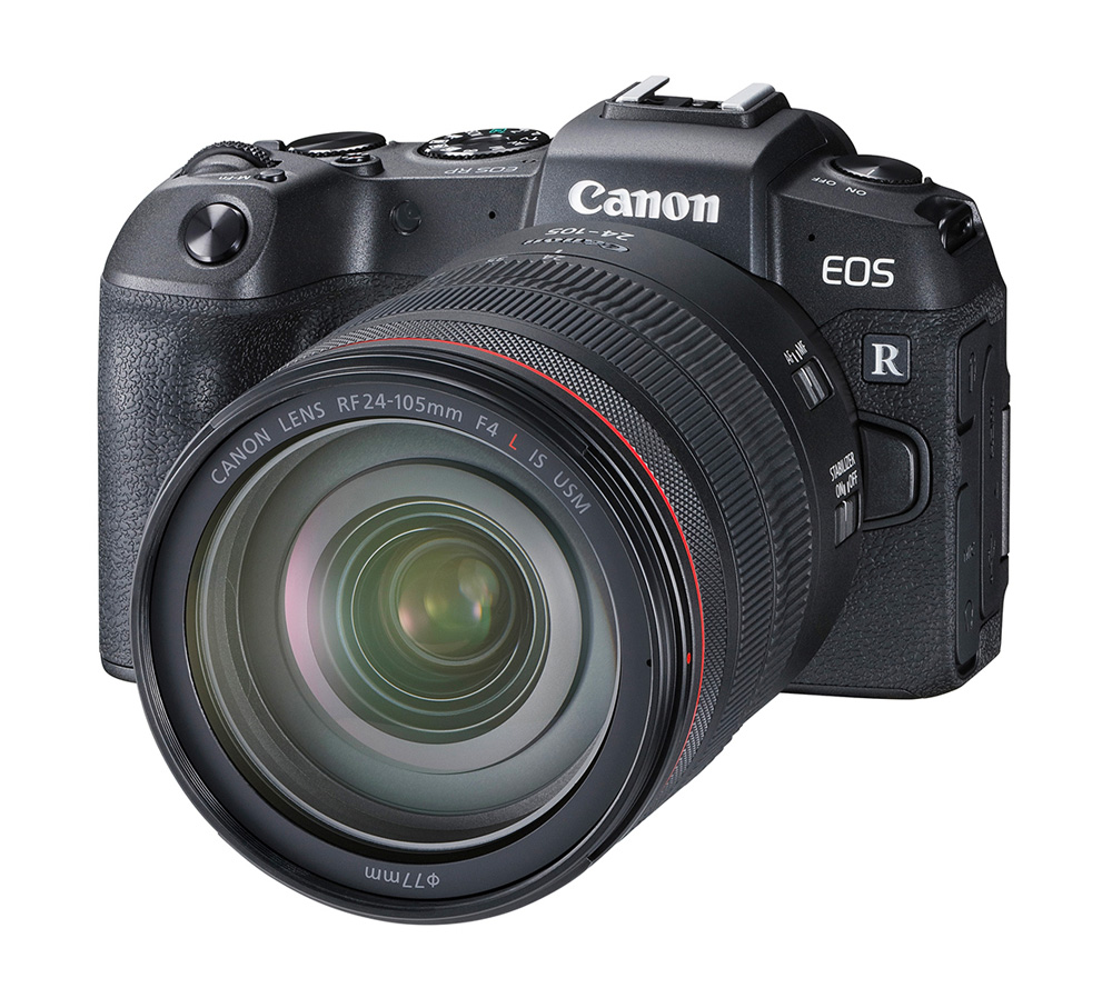 Canon Introduces Full-Frame, Mirrorless EOS RP Camera at werd.com