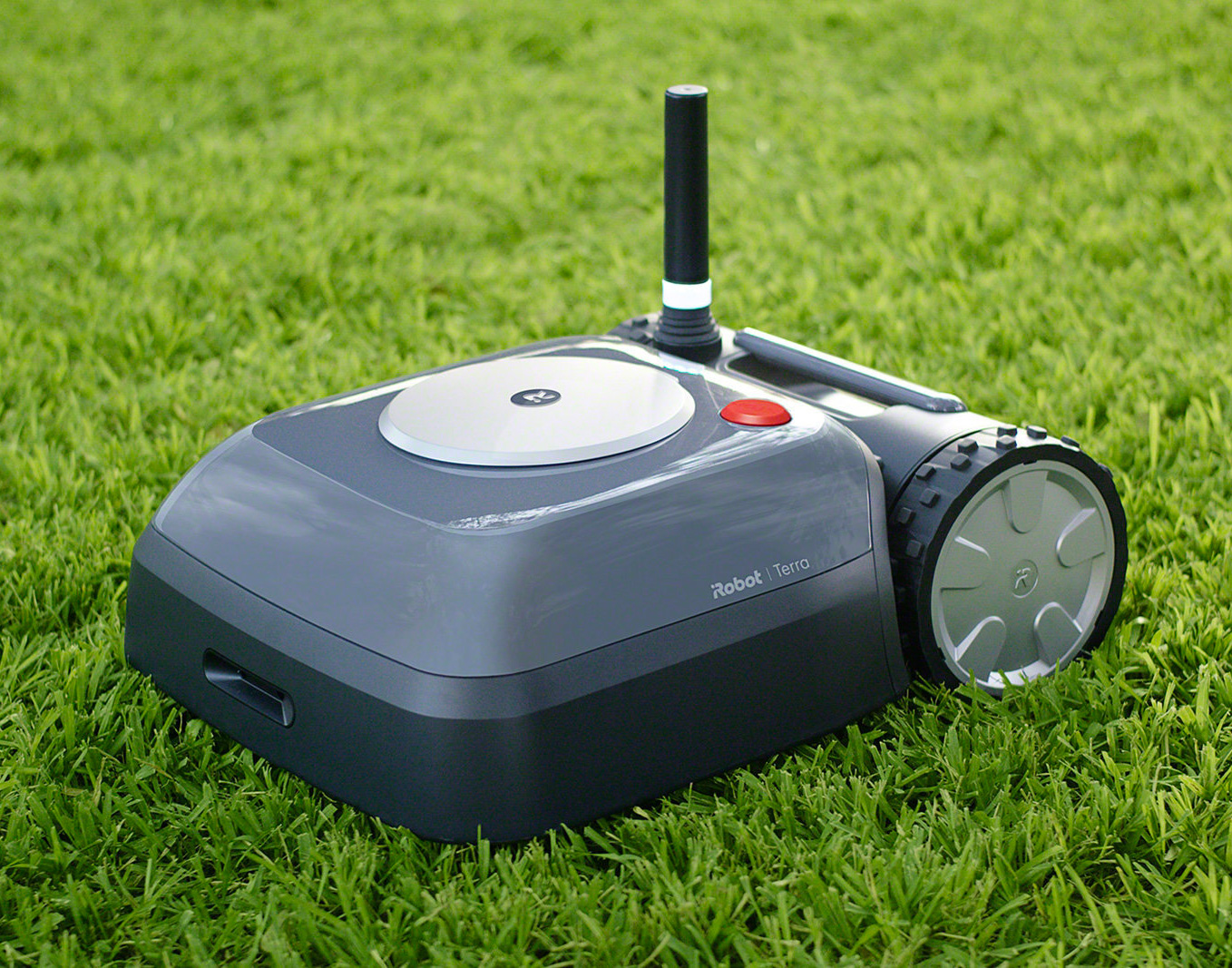 Let This Radical Robot Mow Your Lawn at werd.com