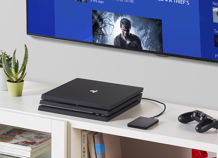 Seagate's Game Drive Let's You Bring Your Fully-Loaded PS4 On The Road at werd.com