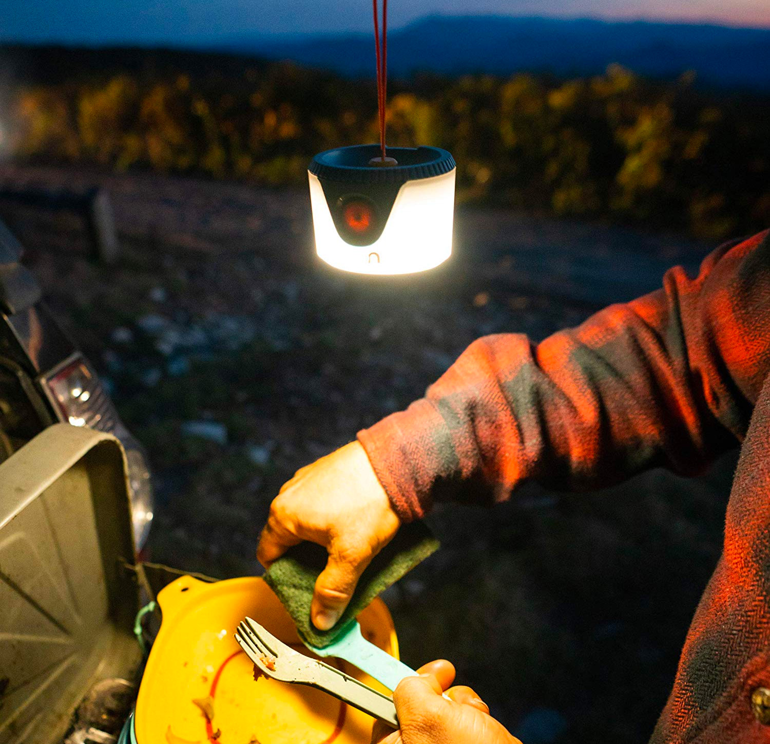 This Compact Camp Lantern Can Totally Hang at werd.com