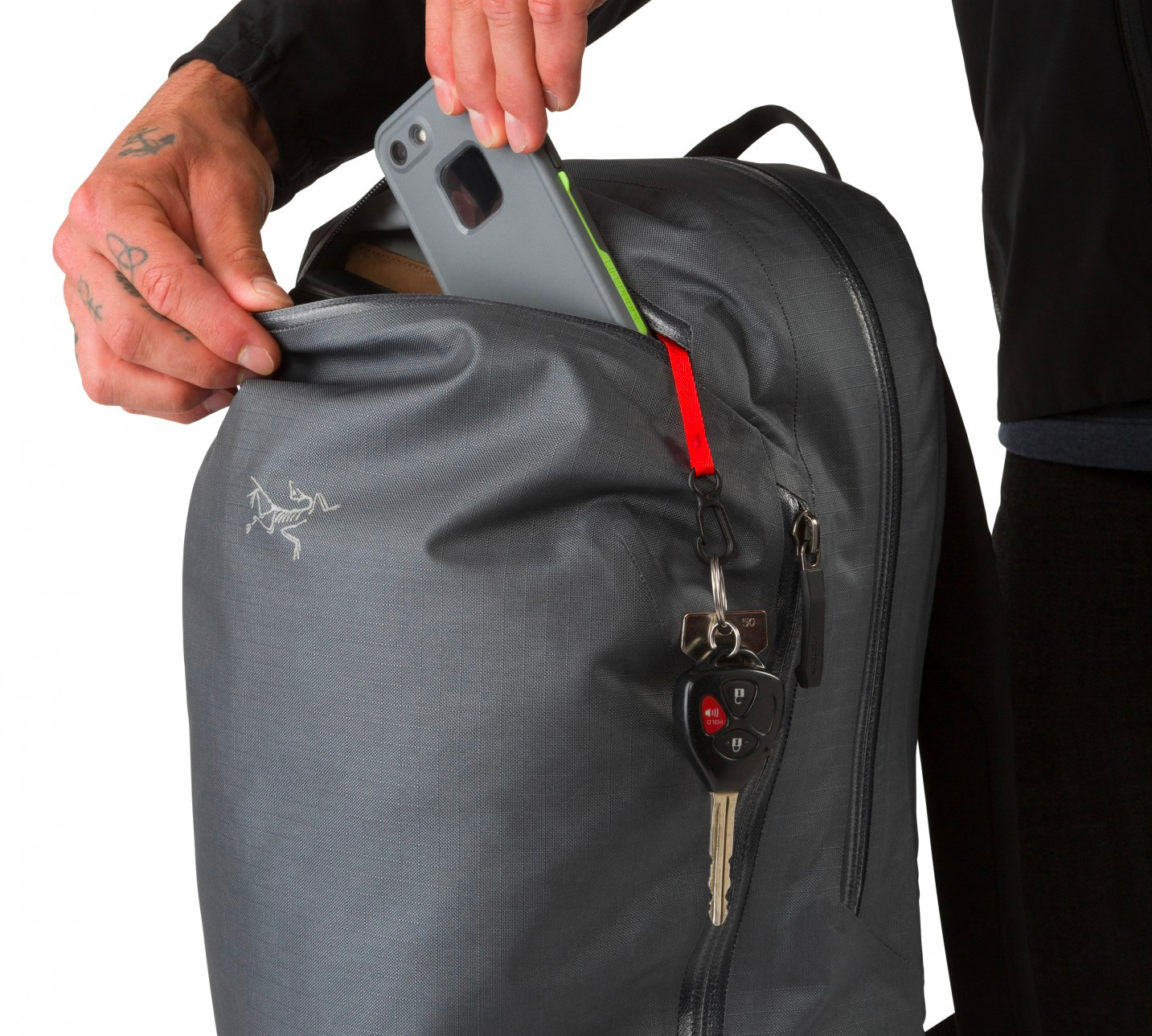 The Arc'Teryx Granville 16 Pack Keeps Your Gear High & Dry at werd.com