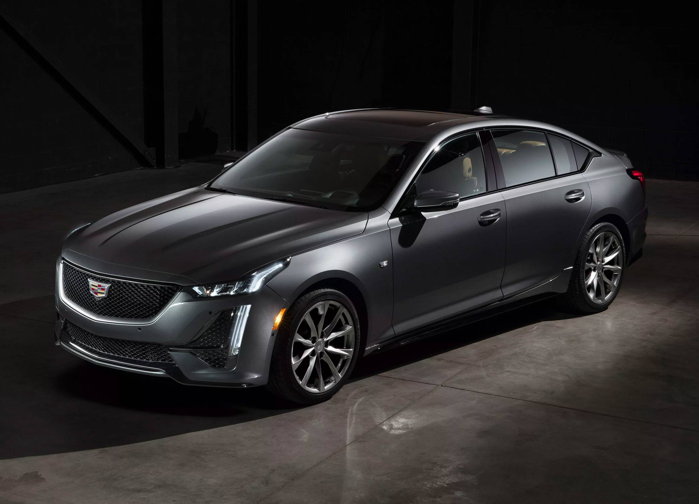 Cadillac Introduces 2020 CT5 Sedan at werd.com