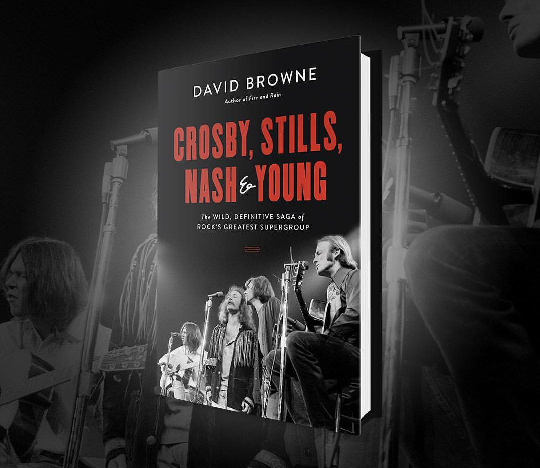 Crosby, Stills, Nash and Young: The Wild, Definitive Saga of Rock's Greatest Supergroup at werd.com