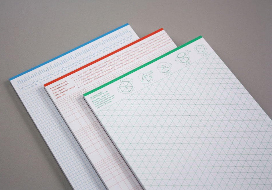 Grids & Guides: Notepads For Visual Thinkers at werd.com