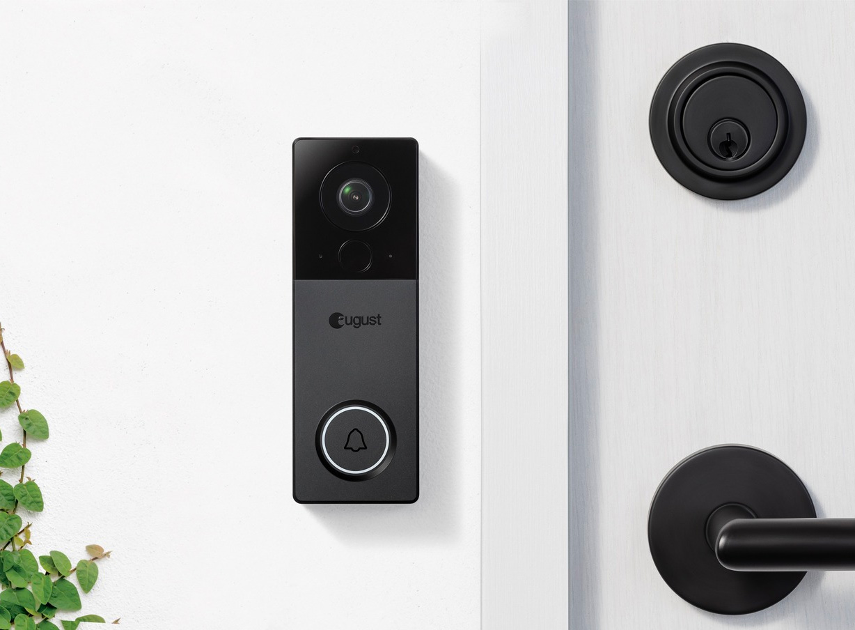 August Upgrades Their Smart Security Doorbell with a Killer Camera at werd.com