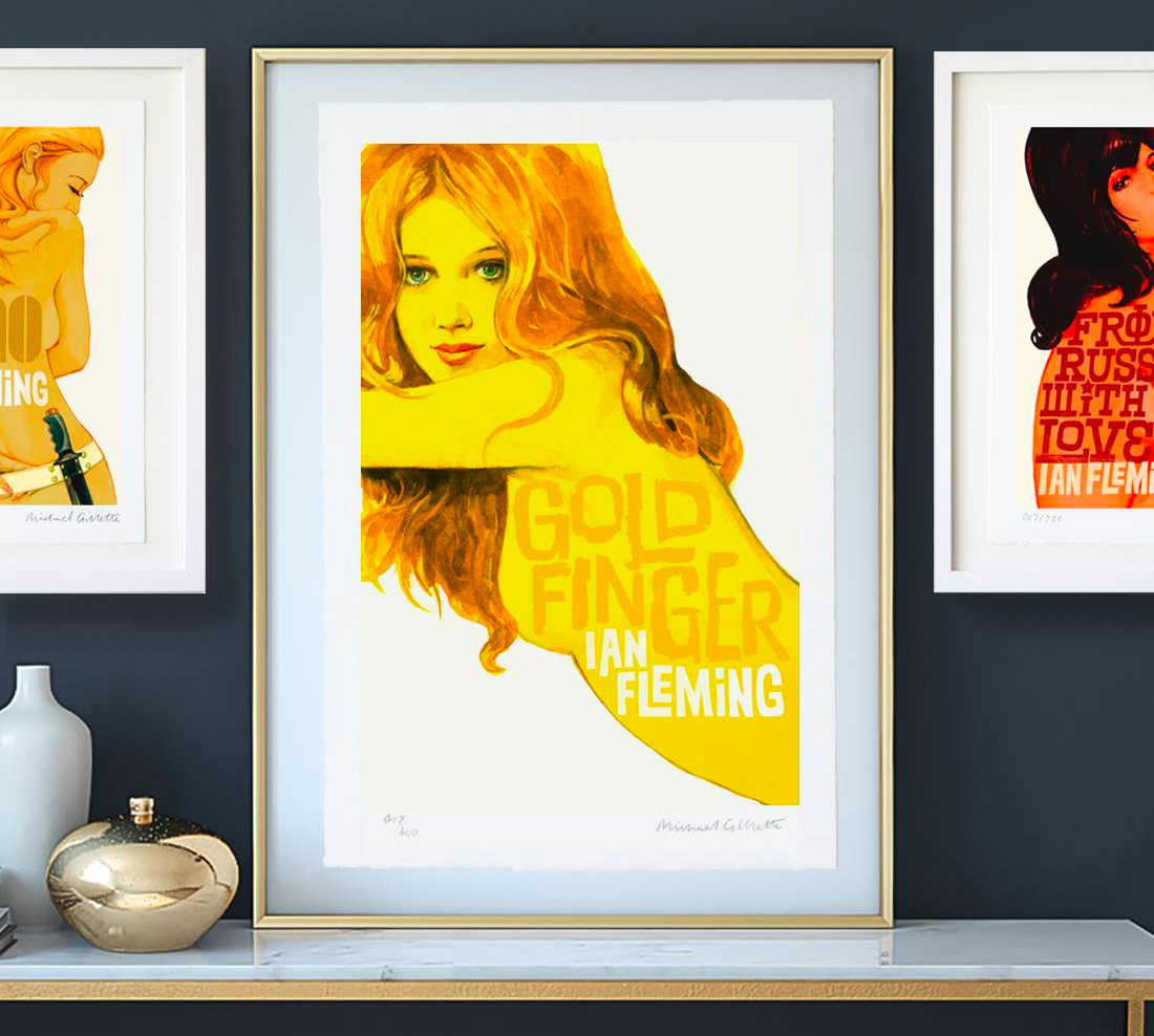 Good Looks: Limited Edition <i>James Bond</i> Art Prints at werd.com