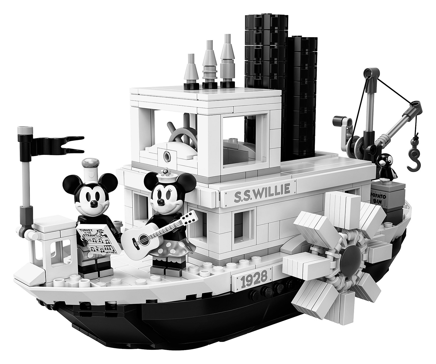 Lego & Disney Celebrate 90 Years of Mickey Mouse at werd.com