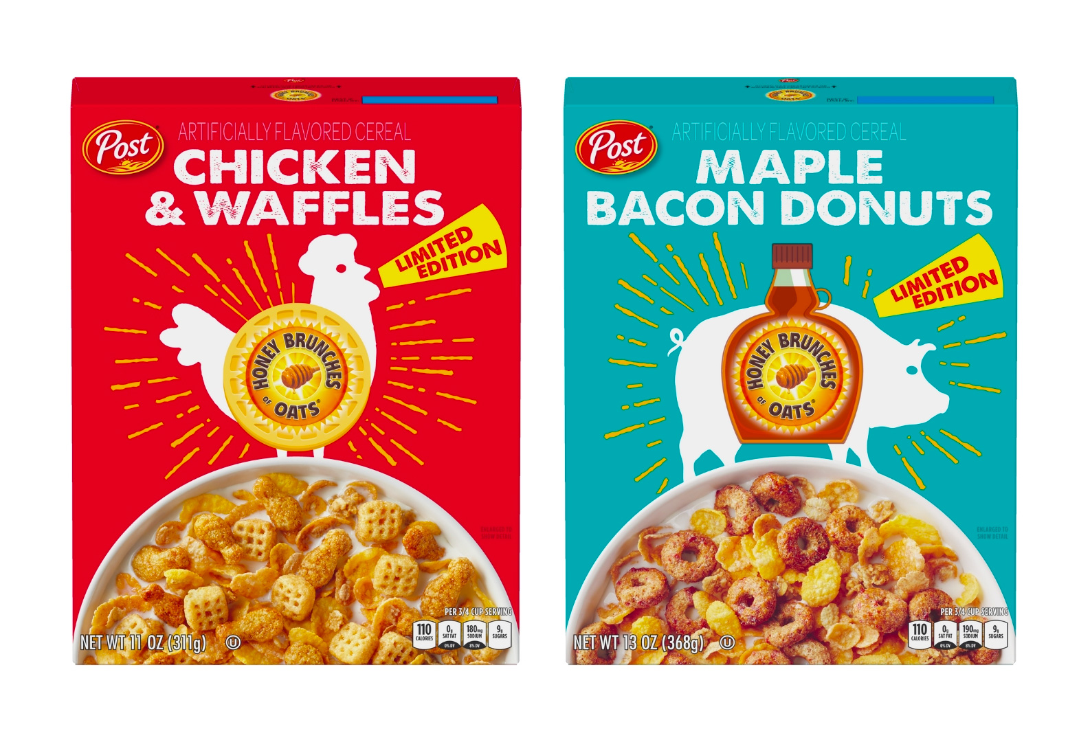 Yes, Chicken & Waffles Flavored Cereal at werd.com
