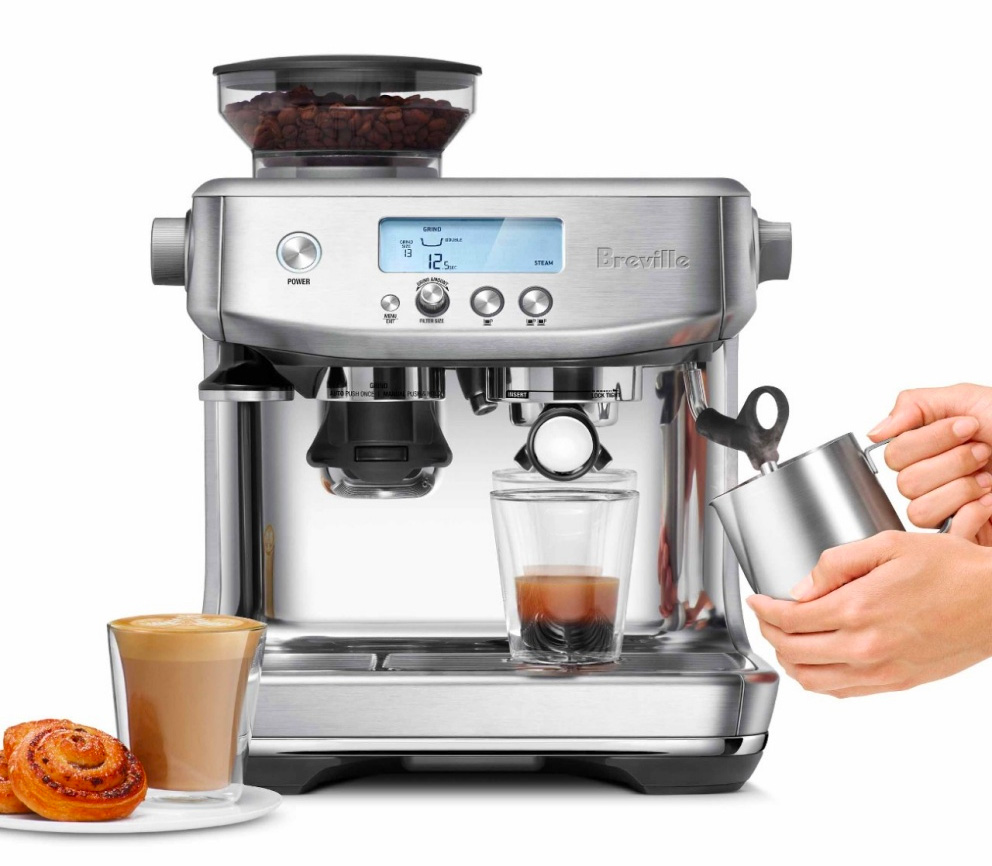 Breville's Barista Pro Makes Mean Espresso, Easier Than Ever at werd.com