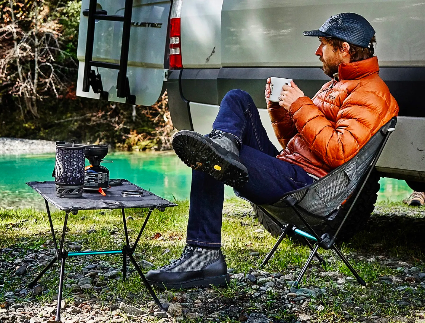 Danner & Helinox Team Up on a Light Hiker, Camp Chair & Table at werd.com