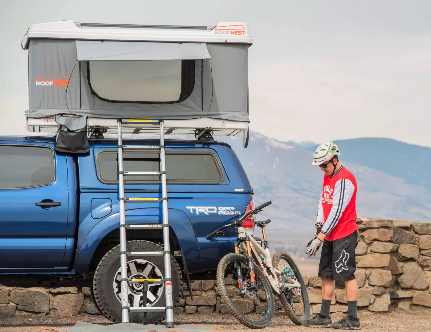 This Rooftop Tent Makes It Easier To Bring Your Toys at werd.com