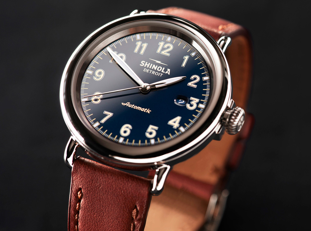 Shinola Revives Flagship Runwell Automatic at werd.com
