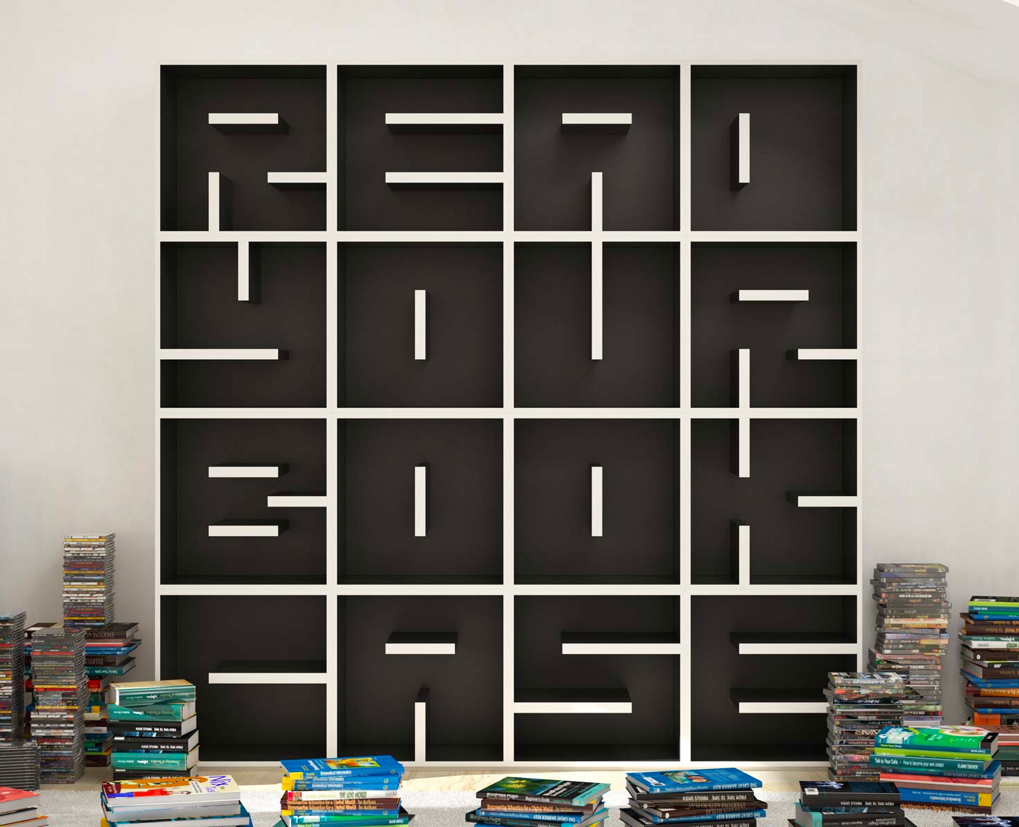 See What Your Bookshelf Says About You at werd.com