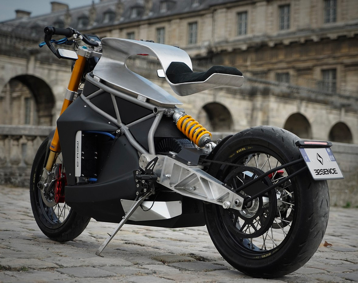 Essence Motorcycles Rolls Out Another Exotic Electric at werd.com