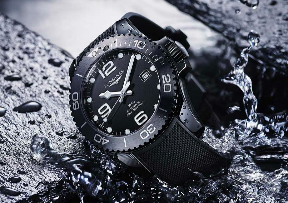 Longines Dives Deep with the HydroConquest Ceramic at werd.com