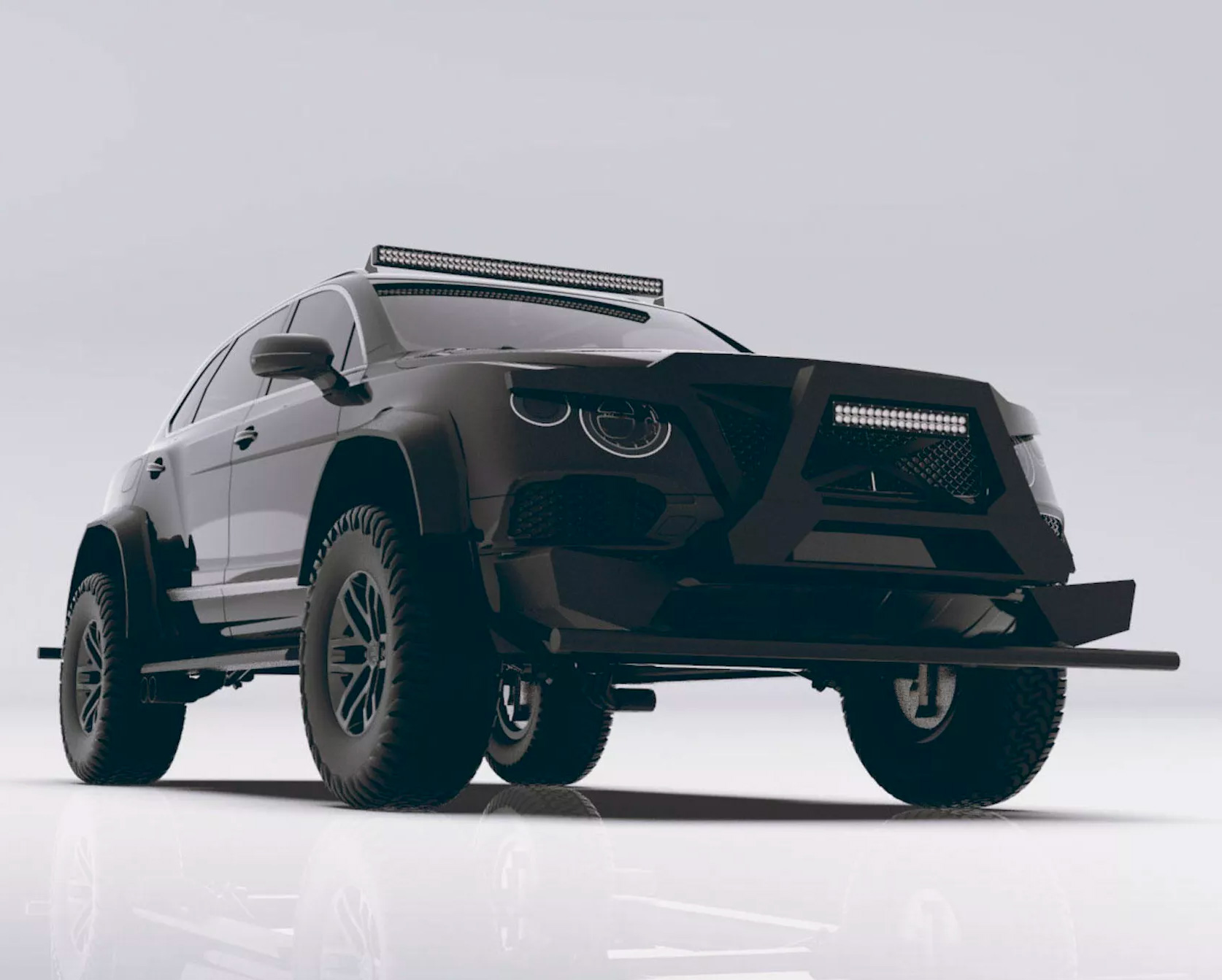 The Bentley Bentayga Bengala is a Battle-Ready Beast at werd.com
