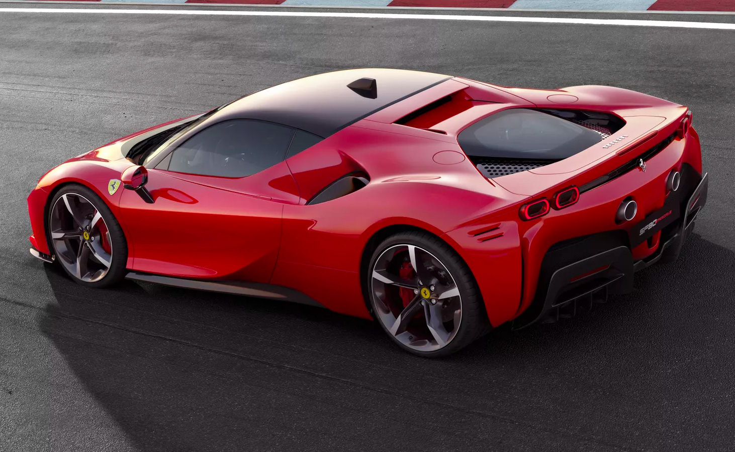 Ferrari's New SF90 Stradale Hybrid Is Here (Almost) at werd.com