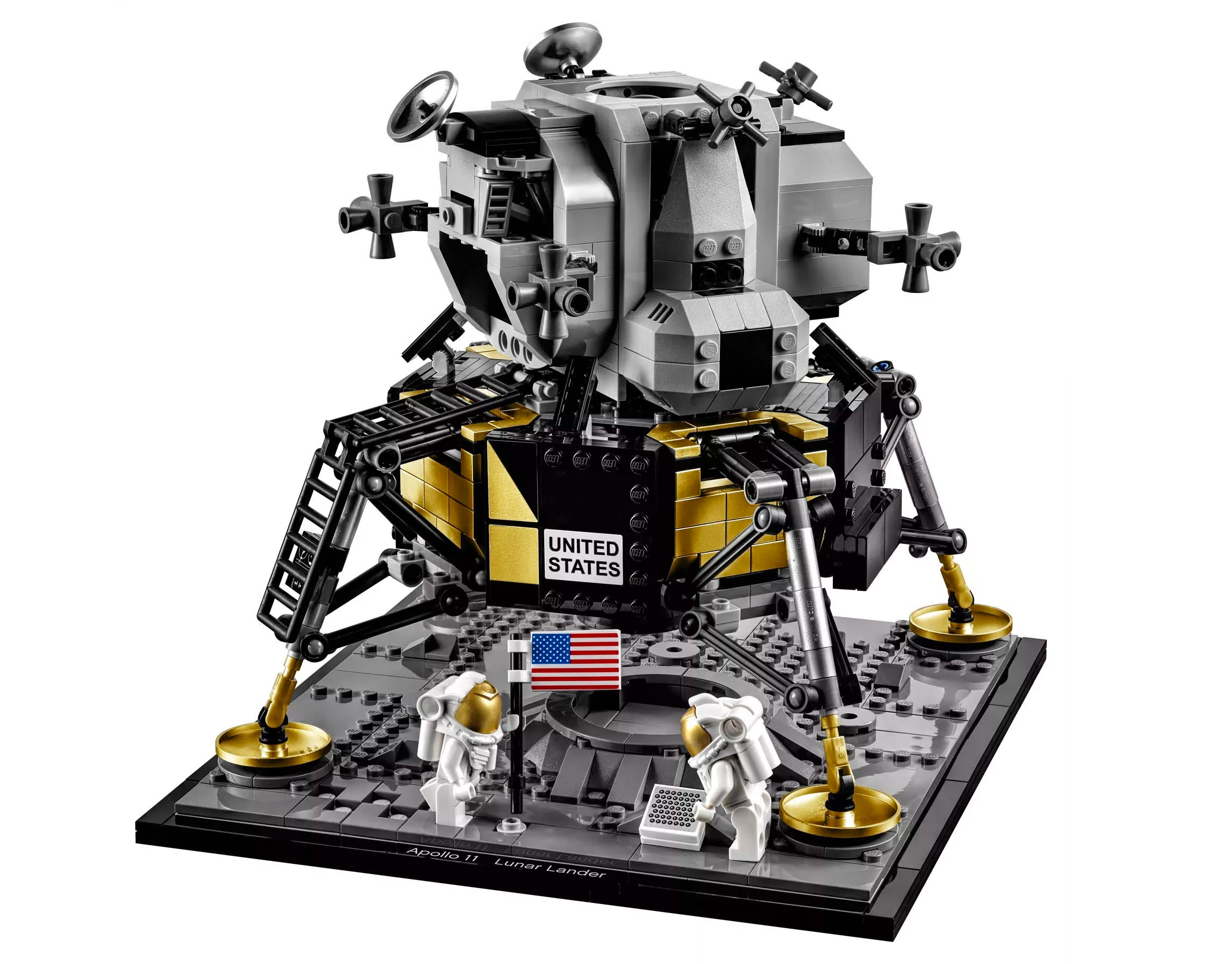 Lego & NASA Team Up On Apollo 11 Lunar Lander Set at werd.com