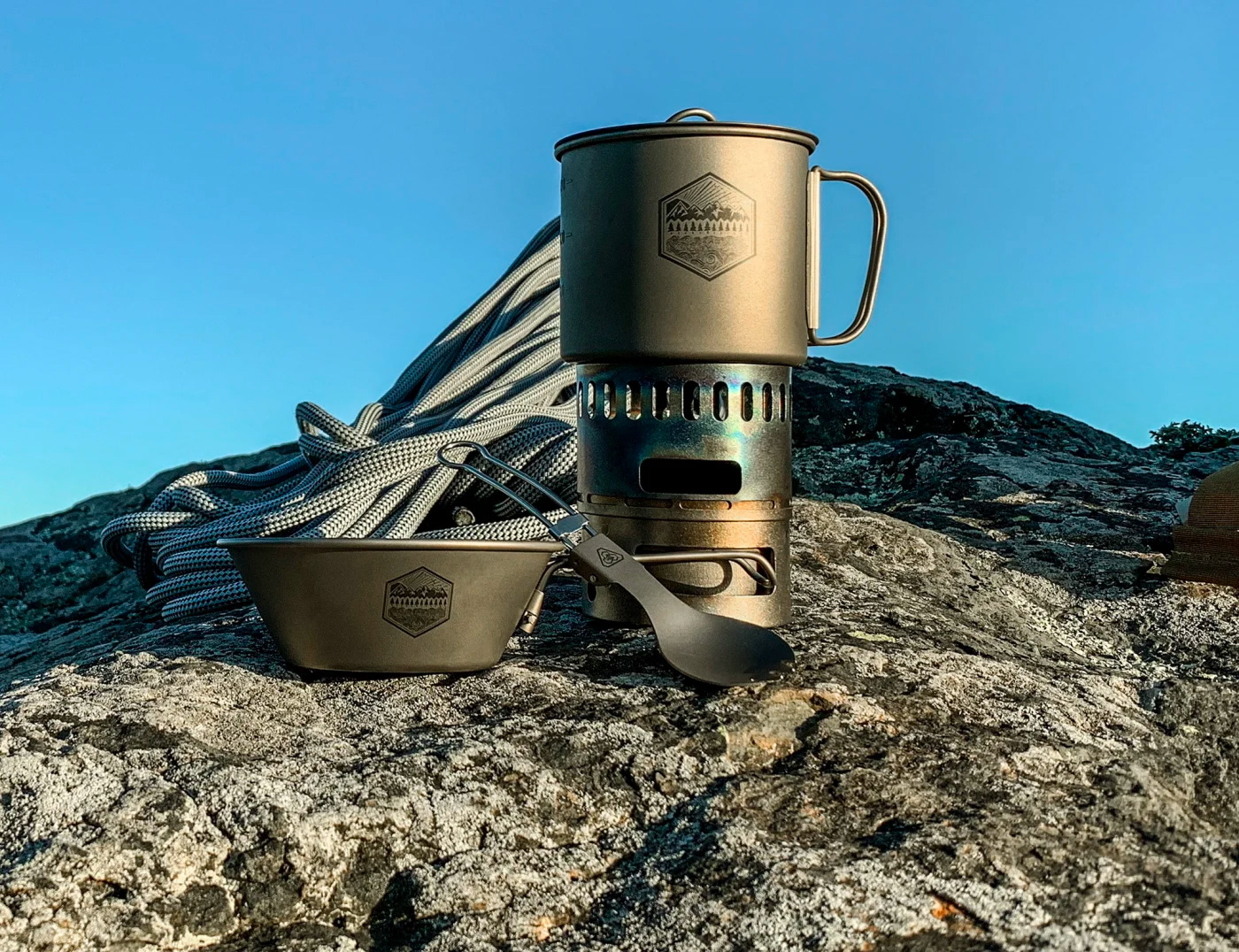 PDW's Titanium Camp Cookware Weighs Next To Nothing at werd.com