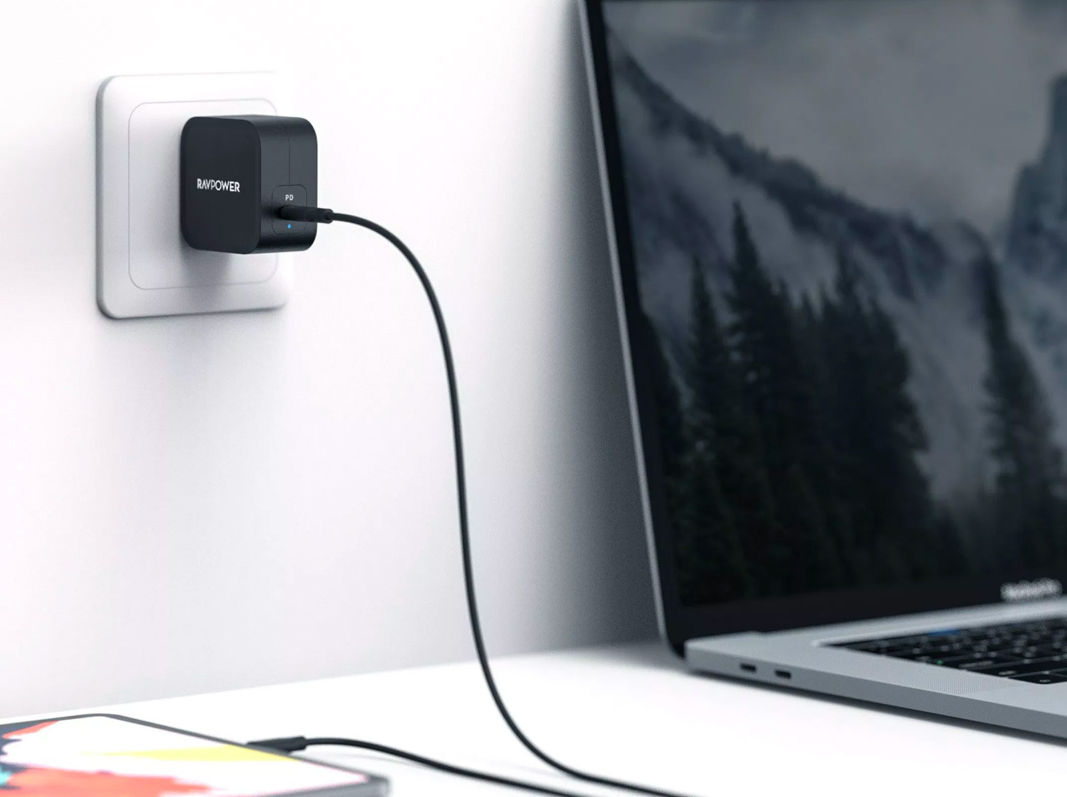 RAVPower Offers a Tiny Portable Macbook Charger at werd.com