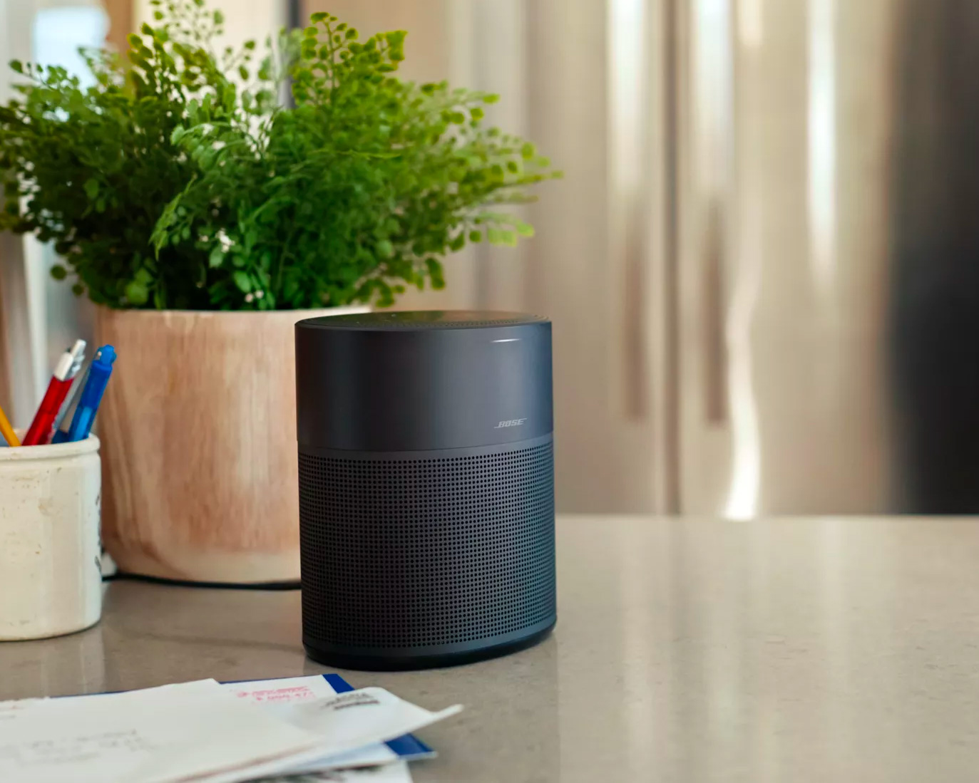 Bose Introduces Google-Enabled Home Speaker 300 at werd.com
