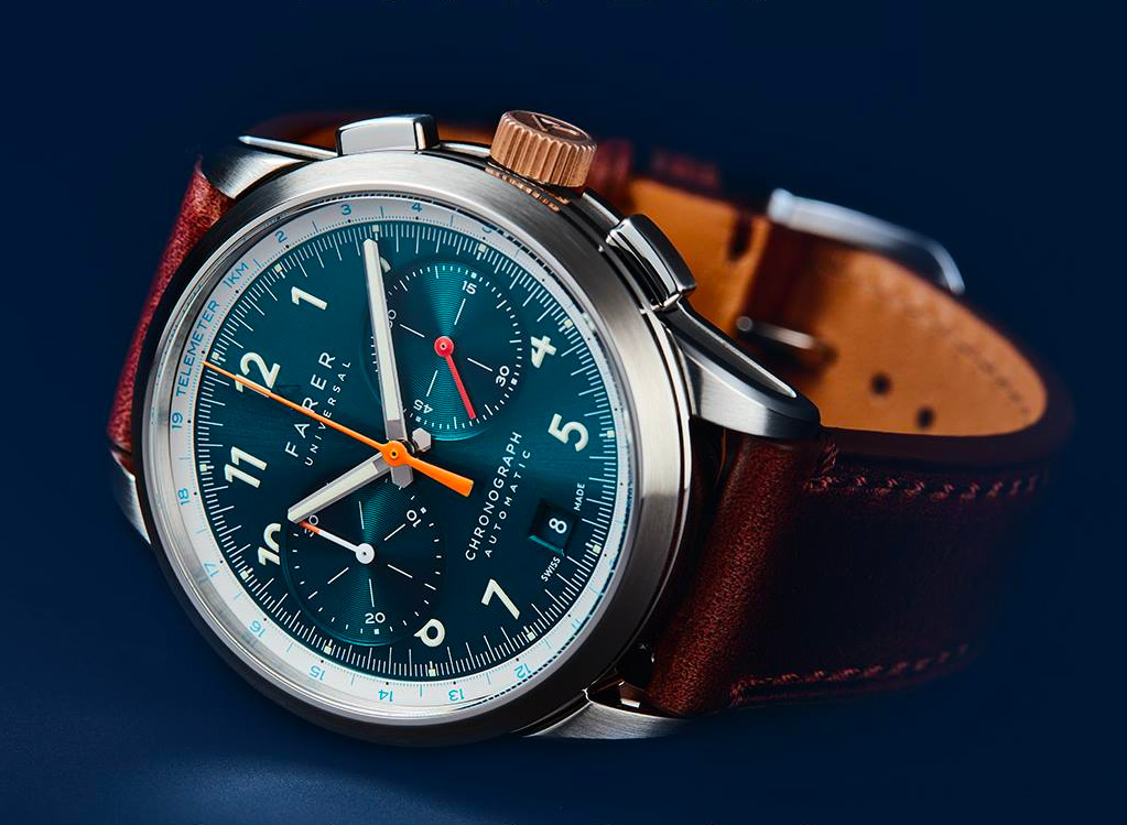 Timeless Appeal: Farer's Lander Chronograph at werd.com