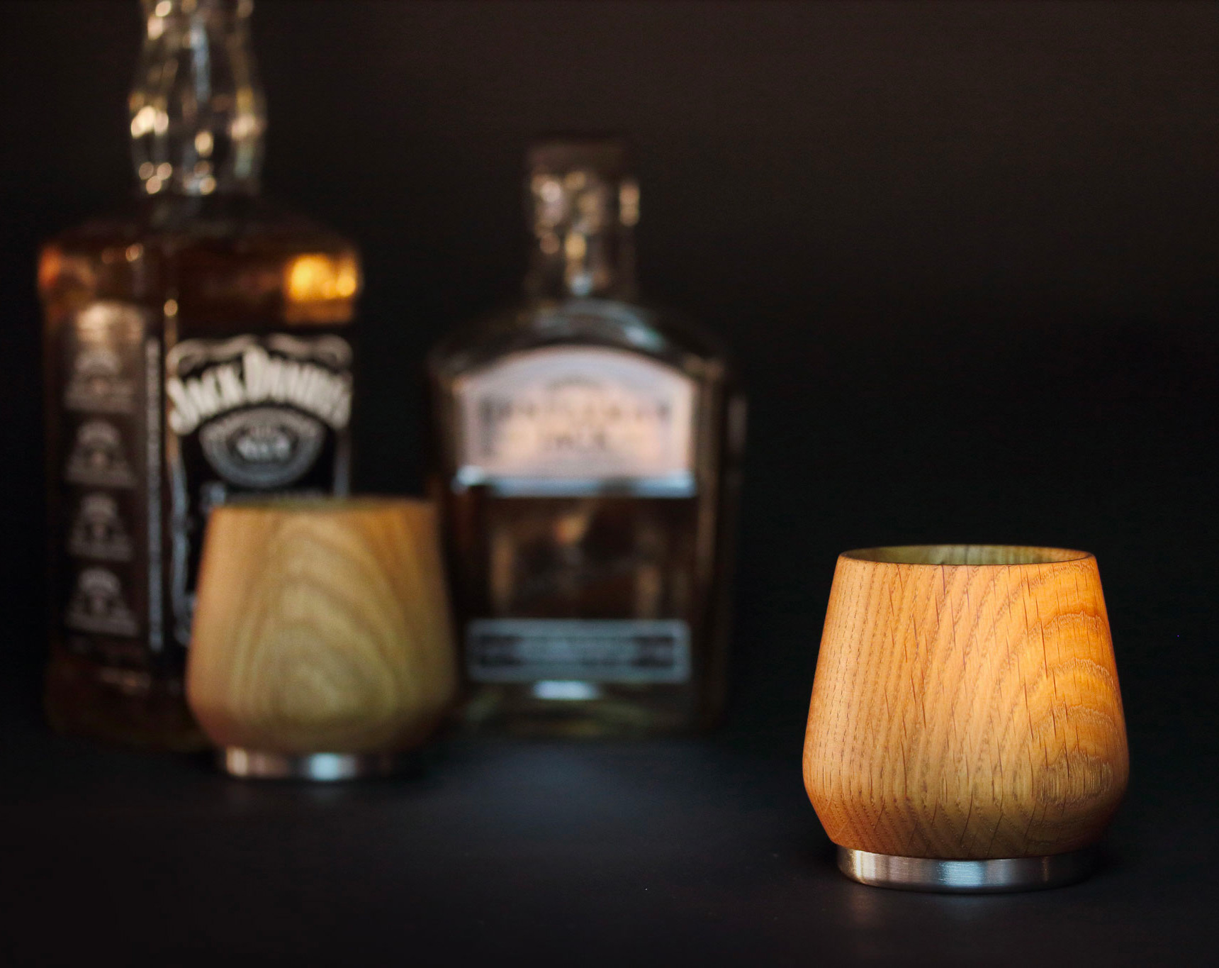Try Drinking Your Whiskey Out Of Wood at werd.com